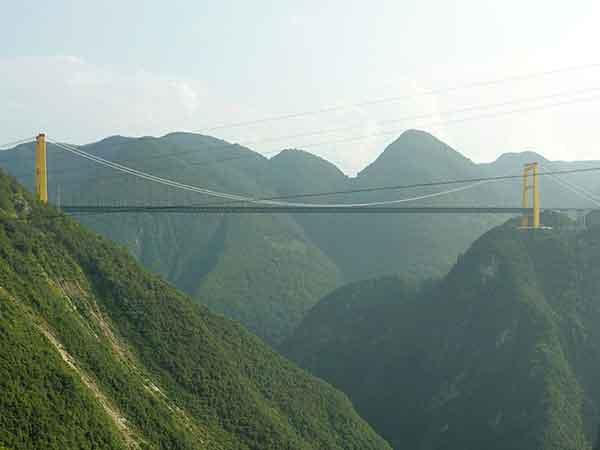 Hoogste en langste bruggen ter wereld, Sidu River Bridge