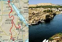 Langste rivier ter wereld is de Nijl, de top vijftig