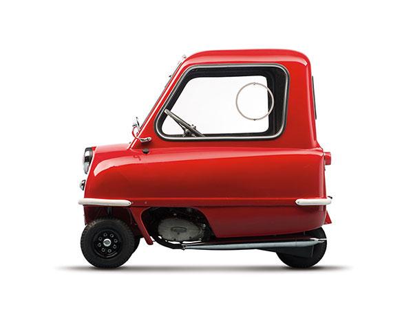 Vreemdste auto ooit gemaakt is de Peel 50