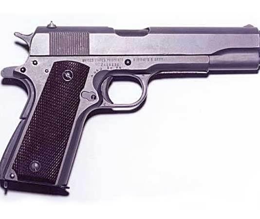 Beste pistool aller tijden is de M1911