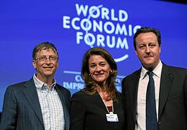 Bill en Melinda Gates