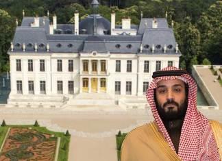 Duurste villa ter wereld bij Parijs gekocht door Saudische kroonprins Bin Salman