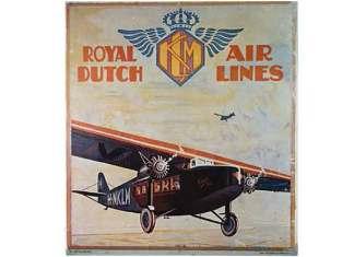 Oudste vliegtuigmaatschappij ter wereld is de KLM