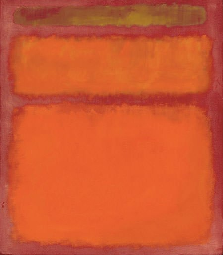 Mark Rothko - Orange, Red, Yellow (1961)