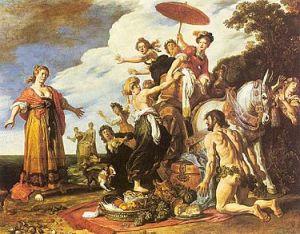 Pieter Lastman - Odysseus en Nausicaa, 1619