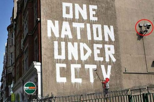 Banksy - One Nation Under CCTV - 2008