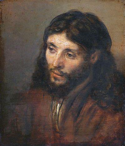 Rembrandt - Christuskop (1648)