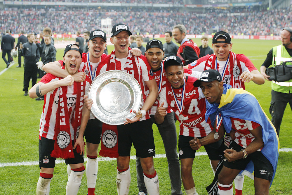 psv clinch 24th dutch league title with