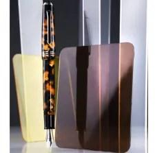 Tibaldi_N60._Amber-Yellow-Resin_Fountain-Pen