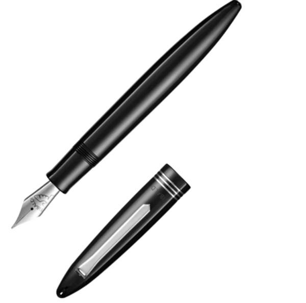 Tibaldi_Bononia_Rich-Black-Resin_Fountain-Pen