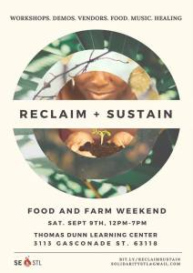 Reclaim + Sustain