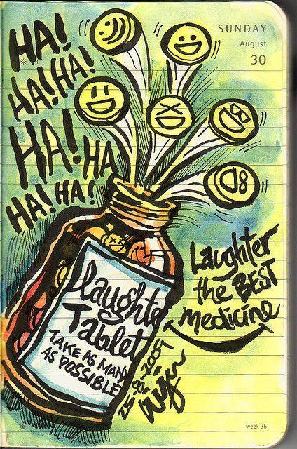 Laughter Club drawing.