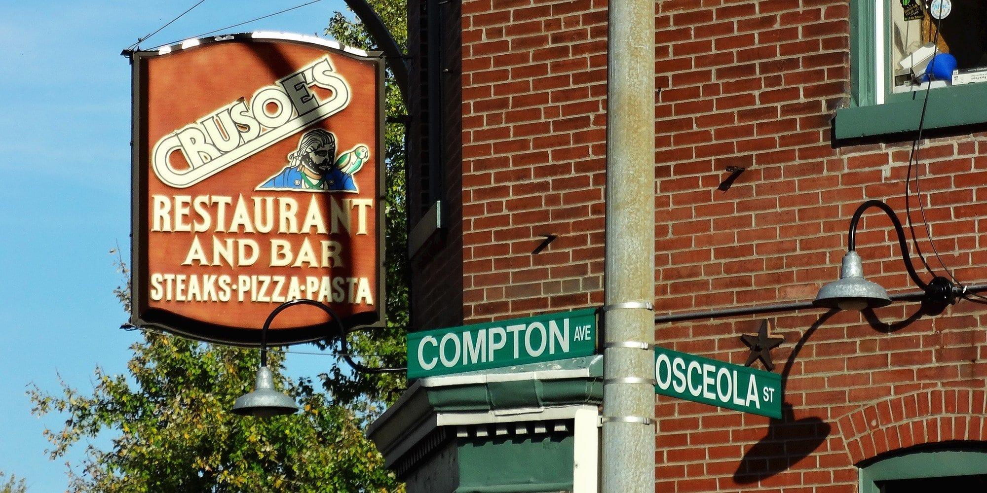 The Original Crusoe's Restaurant. Photo by Paul Sableman.