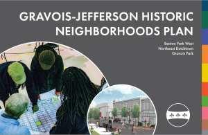 Cover of the Gravois-Jefferson Historic Neighborhoods Plan