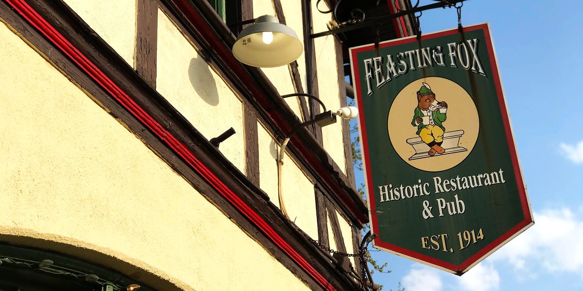 The Feasting Fox Historic Restaurant and Pub.