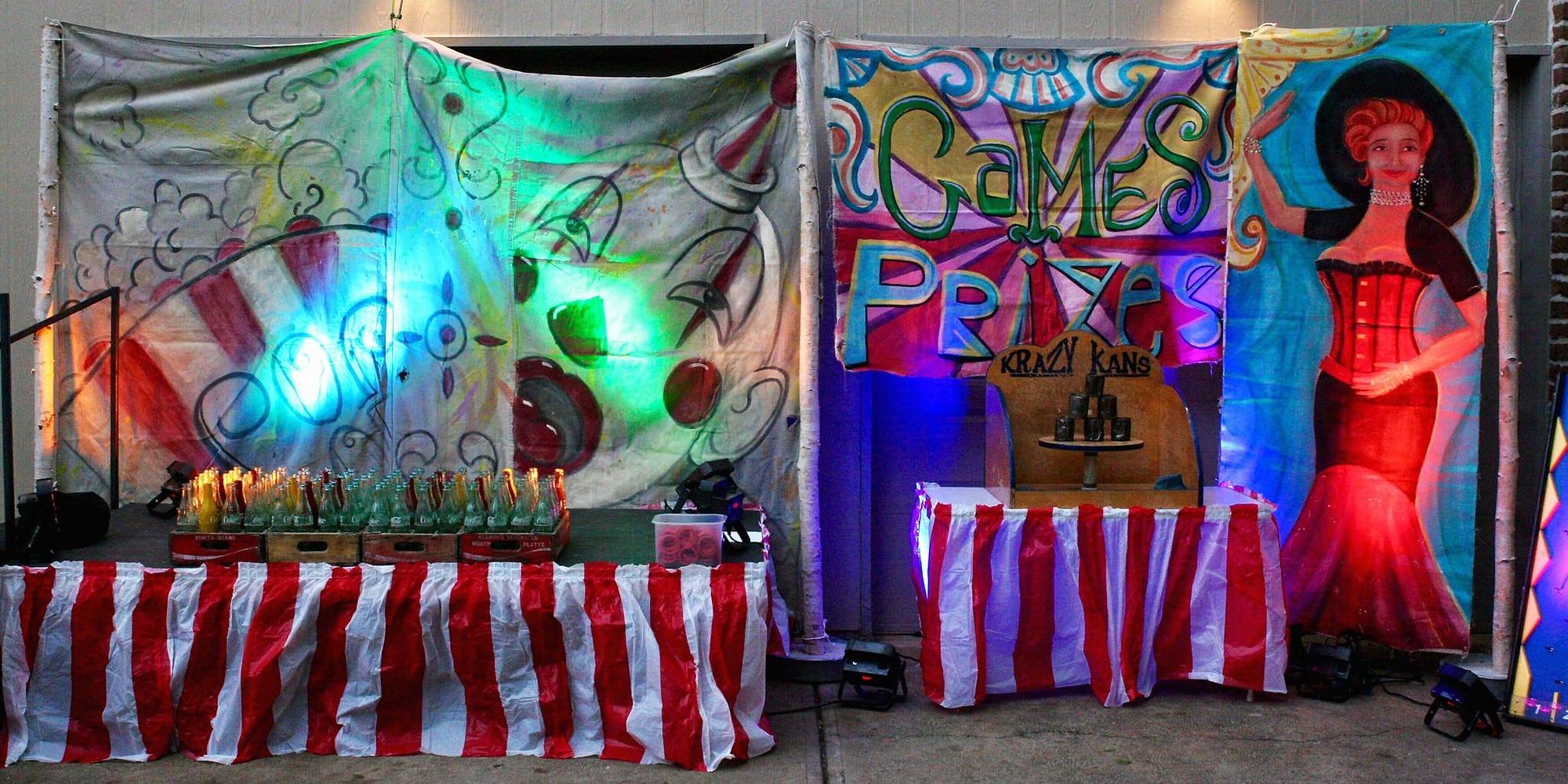 Art by Paul Webb at the Dutchtown Karneval.