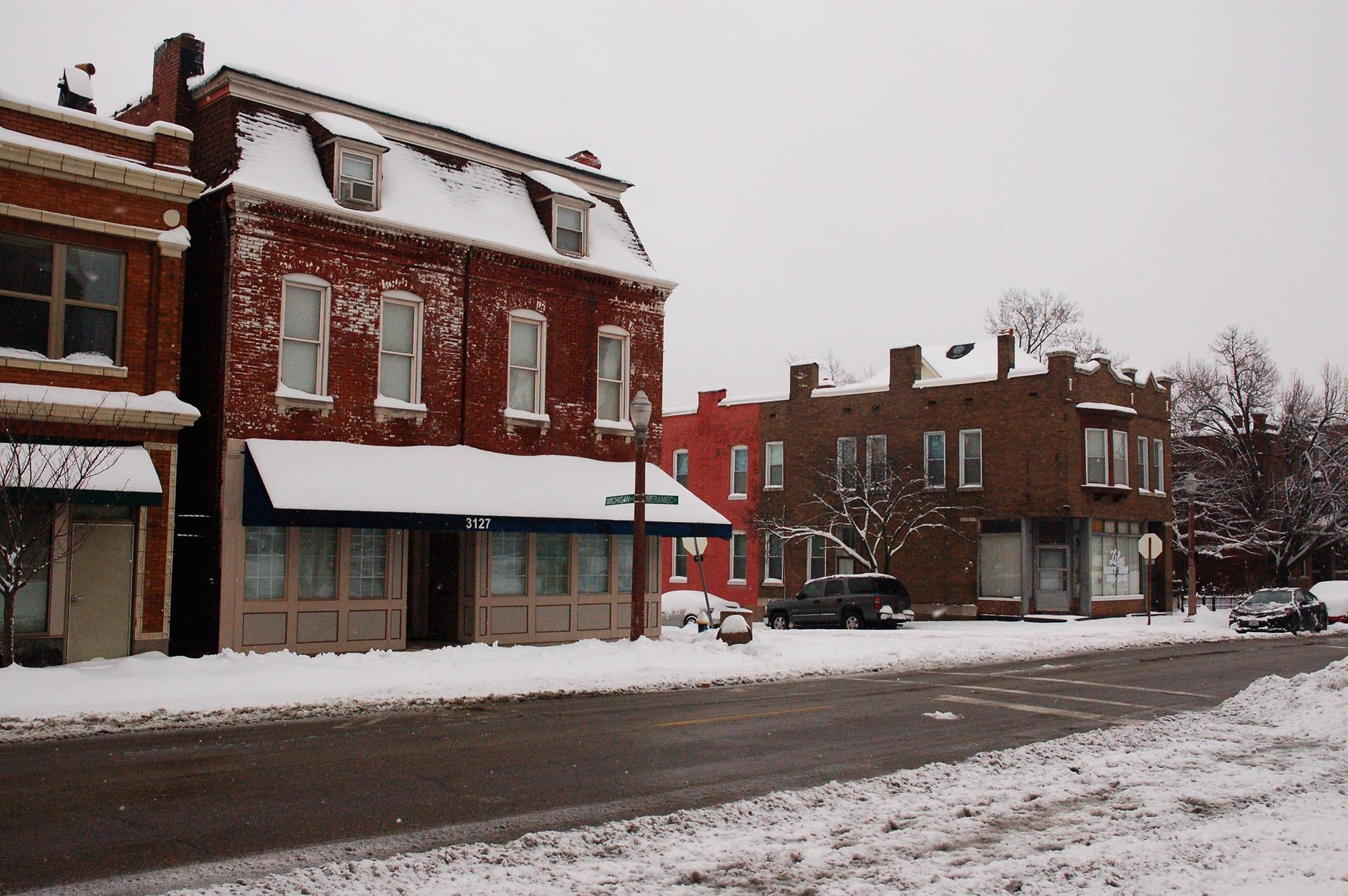 Dutchtown snow 2019