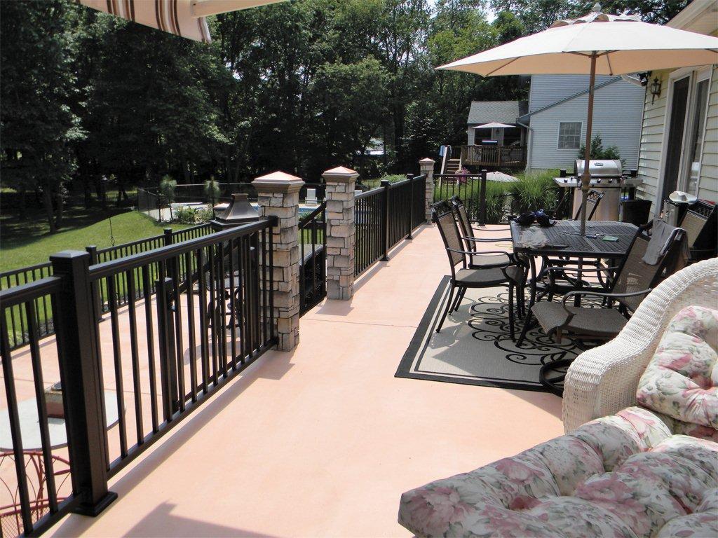 Square Aluminum Porch Columns