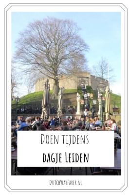Doen tijdens dagje Leiden