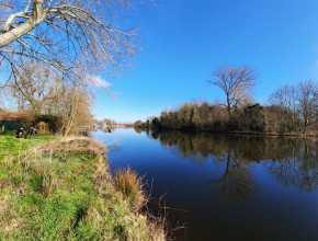 Langs het water wandelen NS-wandeling Abcoude Weesp