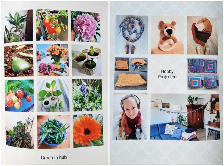 Fotoboek - themapagina