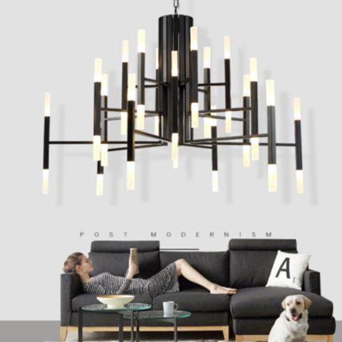 modern rustic chandeliers dutti led