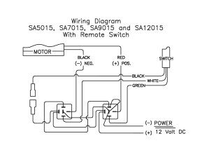 Motor Limit Switch Wiring Diagram 12v Olt | Wiring Library