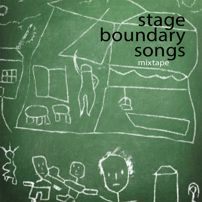 Stage Boundary Songs mixtape cover artwork