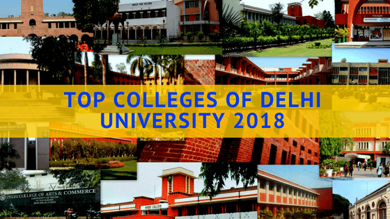 top colleges of delhi university
