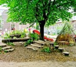Groene schoolpleinen belangrijk voor gezonde ontwikkeling van kinderen
