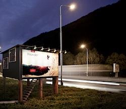 billboard huis