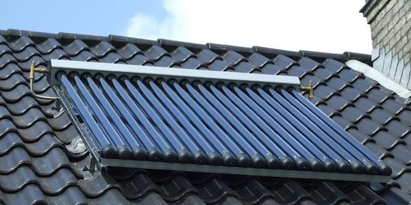 zonneboiler zonnecollector