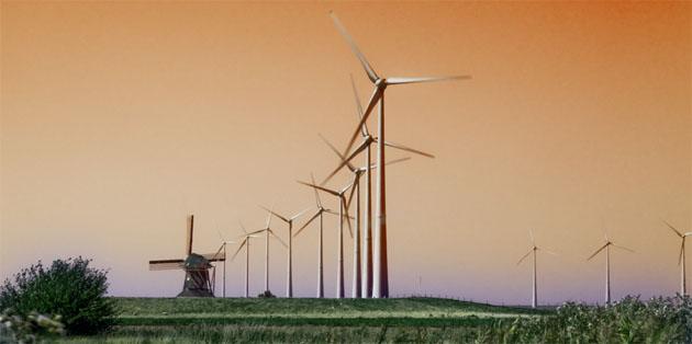 windmolen windturbine foto Peter van Vliet
