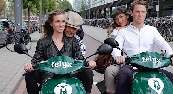 felyx deelscooters