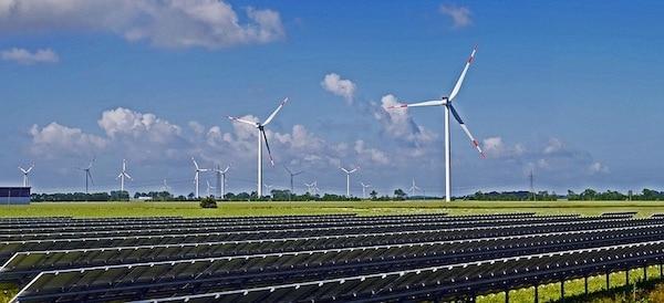 zonne wind park