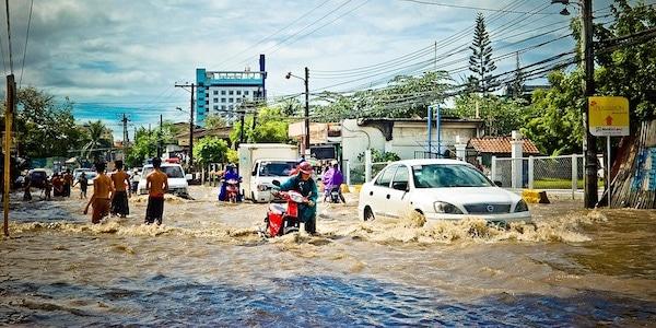 klimaat overstroming ipcc