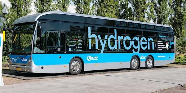 waterstof bus qbuzz