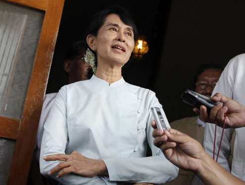 Suu Kyi asks US to back war crimes probe thumbnail