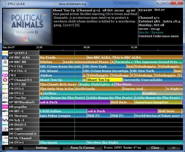DVB Dream 3.3