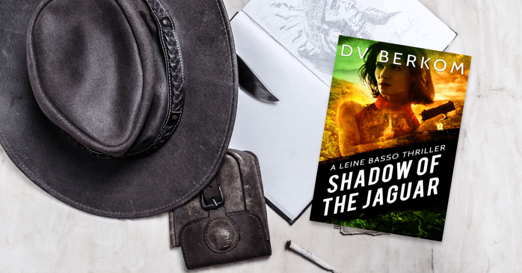 image of book with Indiana Jones hat