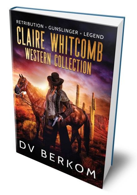 paperback cover for the Claire Whitcomb Western Collection