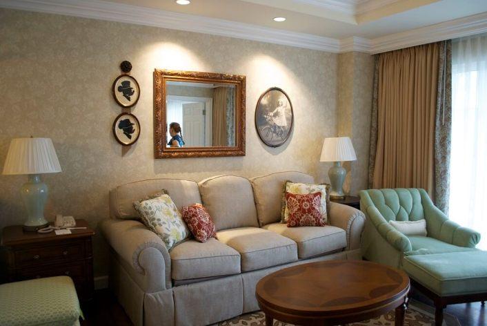 Grand Floridian Villa Living Room