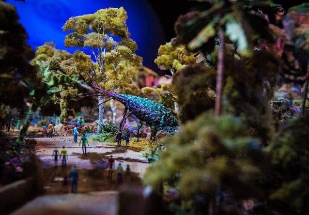 Model of Disney's Pandora