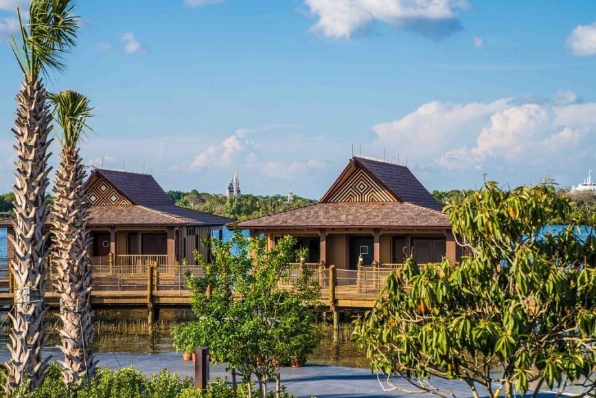 Bungalow Exterior at Disney's Polynesian Resort