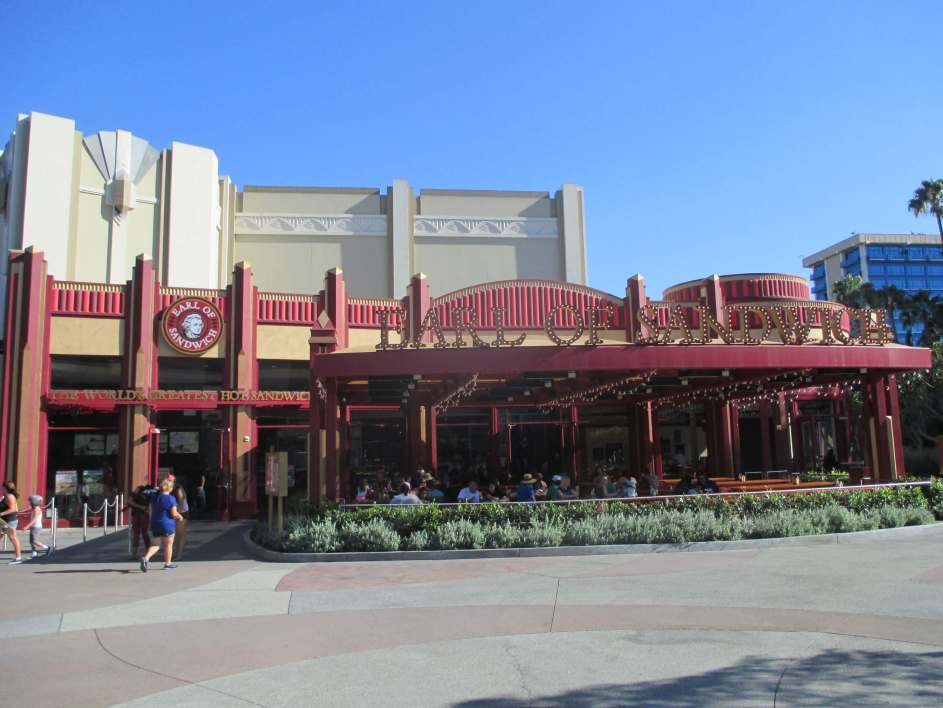 Downtown Disney's Earl of Sandwich Restaurant