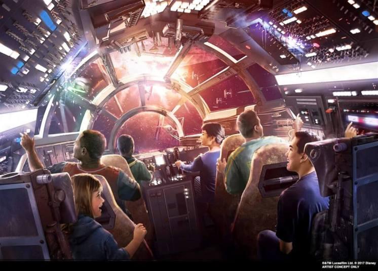 Star Wars Millennium Falcon Smuggler's Run