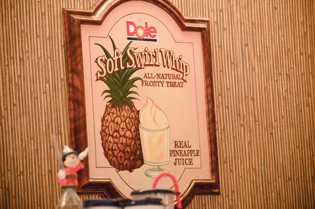 Dole Whip Sign at Disney World