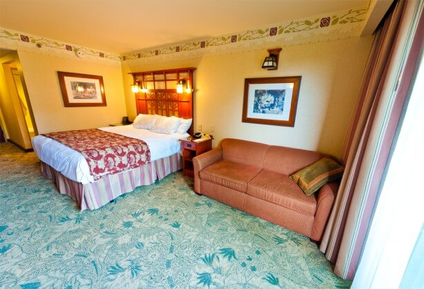 Disney's Grand Californian Bedroom