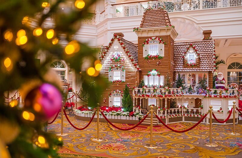 Life-Size Gingerbread House at Walt Disney World