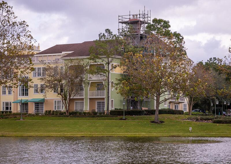 Saratoga Springs DVC resort at Disney World